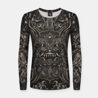 Thumbnail image of Engraved Bali Smile Women sweater, Live Heroes
