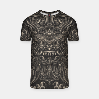 Thumbnail image of Engraved Bali Smile T-shirt, Live Heroes