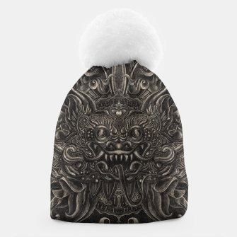 Thumbnail image of Engraved Bali Smile Beanie, Live Heroes