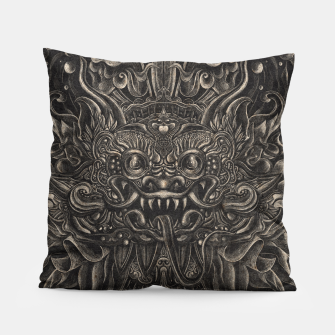 Thumbnail image of Engraved Bali Smile Pillow, Live Heroes
