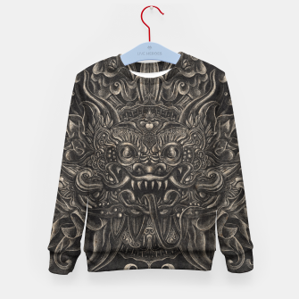 Thumbnail image of Engraved Bali Smile Kid's sweater, Live Heroes