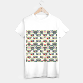 Miniaturka Cute geeky blushing CPU My cores are hot for you pattern T-shirt regular, Live Heroes