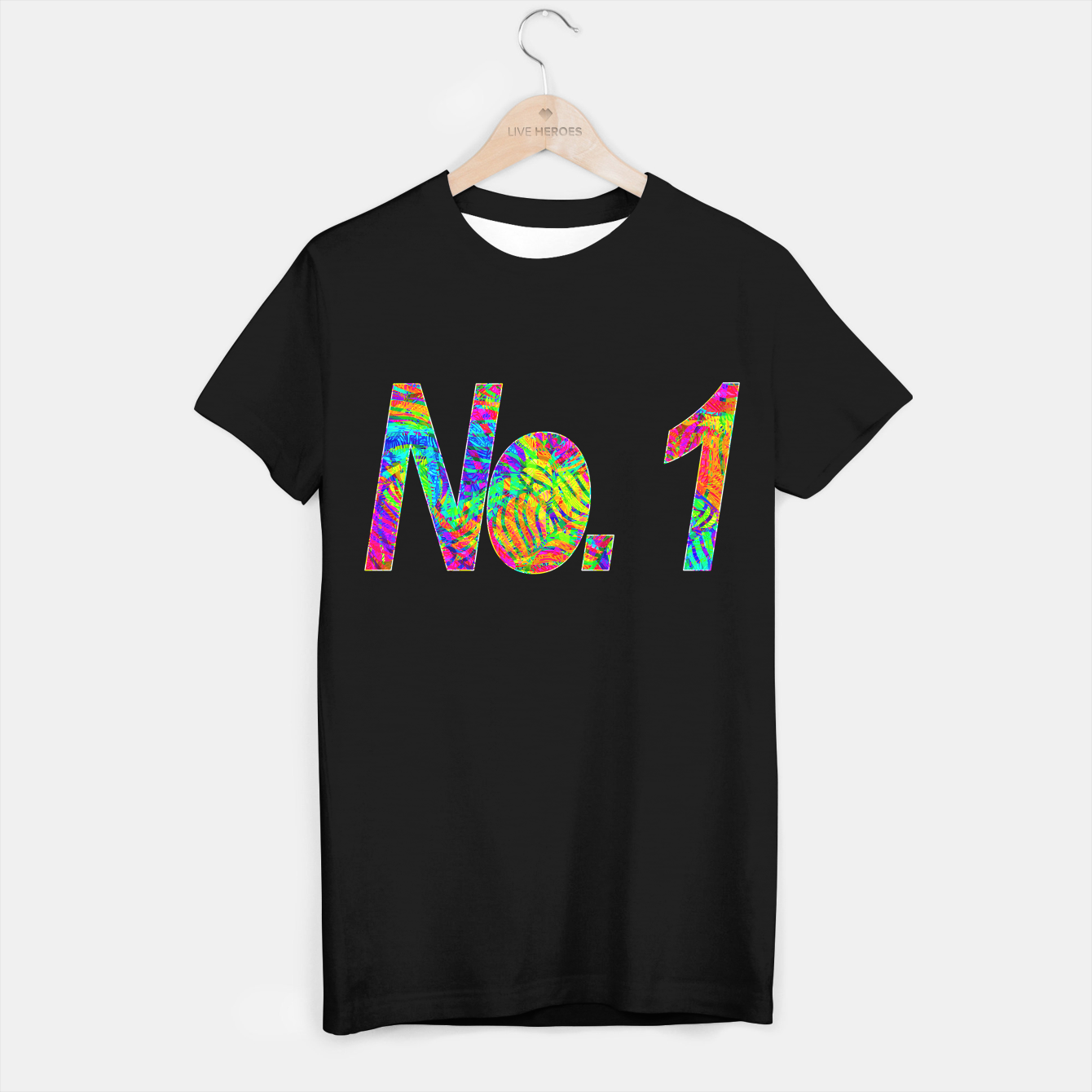 Image of No.1 T-shirt regular - Live Heroes