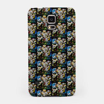 Thumbnail image of Christian Window Glass Artwork Samsung Case, Live Heroes