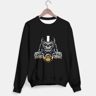 Thumbnail image of Death Biker Sweater regular, Live Heroes