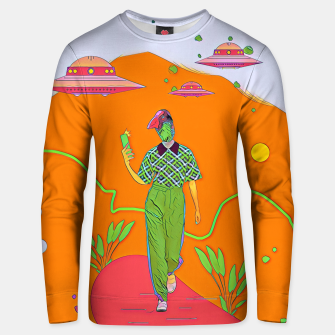 Thumbnail image of Selfie Unisex sweater, Live Heroes