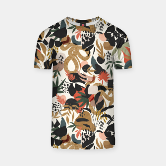 Thumbnail image of Abstract snakes shapes nature 63 Camiseta, Live Heroes