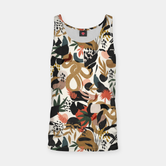 Thumbnail image of Abstract snakes shapes nature 63 Camiseta de tirantes, Live Heroes