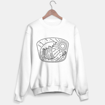 Miniatur Good Wave Sweater regular, Live Heroes