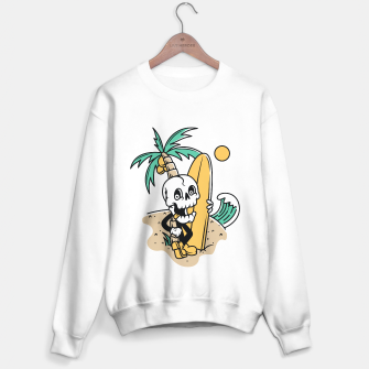 Thumbnail image of Skull Ready to Surf Sweater regular, Live Heroes