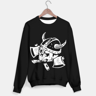 Thumbnail image of Death Viking Sweater regular, Live Heroes