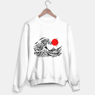 Thumbnail image of The Great Wave off Kanagawa Ink Sweater regular, Live Heroes