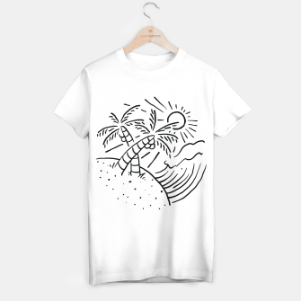 Thumbnail image of Beach and Wave T-shirt regular, Live Heroes