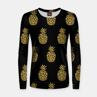 Miniature de image de Golden Pineapple Tropical Fruit Fruit Lover Gifts Summer Women sweater, Live Heroes