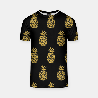 Miniature de image de Golden Pineapple Tropical Fruit Fruit Lover Gifts Summer T-shirt, Live Heroes