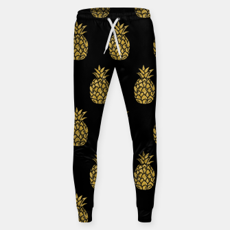 Miniature de image de Golden Pineapple Tropical Fruit Fruit Lover Gifts Summer Sweatpants, Live Heroes