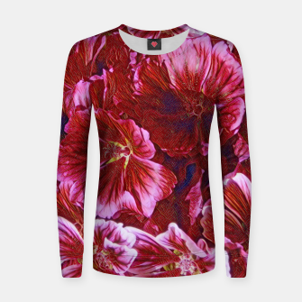 Thumbnail image of Floral Joy Women sweater, Live Heroes
