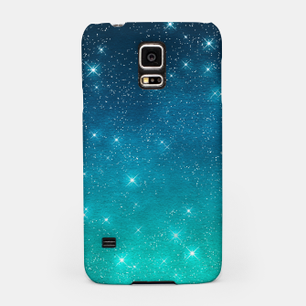 Imagen en miniatura de Starry Night Sky Stars Lovers Astrology Universe Blue Green Samsung Case, Live Heroes
