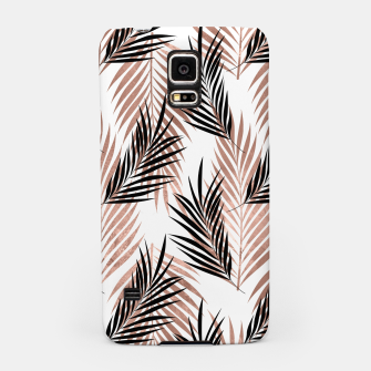 Thumbnail image of Black Golden Rose Palm Leaf Tropical Tree Hawaiian Beach Samsung Case, Live Heroes