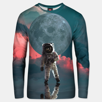 Thumbnail image of Astronaut Moon Space NASA Planet Sudadera unisex, Live Heroes