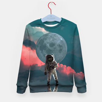 Thumbnail image of Astronaut Moon Space NASA Planet Sudadera para niños, Live Heroes