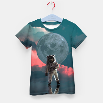 Thumbnail image of Astronaut Moon Space NASA Planet Camiseta para niños, Live Heroes