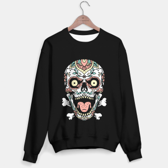 Thumbnail image of Mexican Skull Sweater regular, Live Heroes