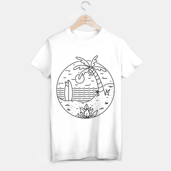 Thumbnail image of Surf and Beach T-shirt regular, Live Heroes