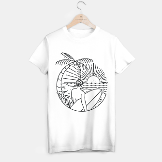 Thumbnail image of It's Time to Surf T-shirt regular, Live Heroes