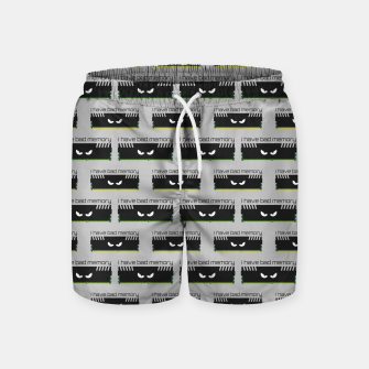 Thumbnail image of I have bad memory RAM geeky nerdy pattern Swim Shorts, Live Heroes