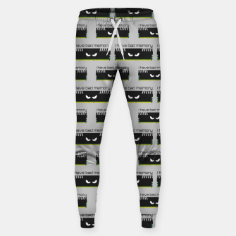 Thumbnail image of I have bad memory RAM geeky nerdy pattern Sweatpants, Live Heroes