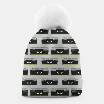 Thumbnail image of I have bad memory RAM geeky nerdy pattern Beanie, Live Heroes
