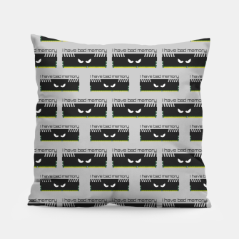 Thumbnail image of I have bad memory RAM geeky nerdy pattern Pillow, Live Heroes