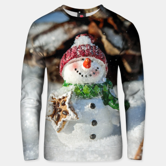 Thumbnail image of Snowman Sudadera unisex, Live Heroes
