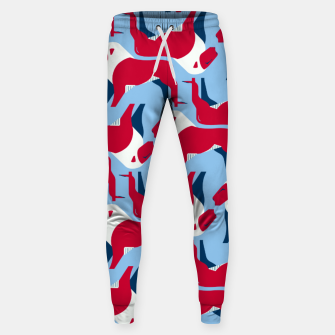 Miniature de image de Lion - United Kingdom flag symbol Sweatpants, Live Heroes