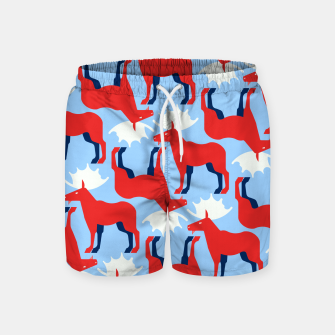 Miniature de image de Elk - Norway flag symbol Swim Shorts, Live Heroes
