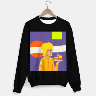 Thumbnail image of Cola & burger Sweater regular, Live Heroes