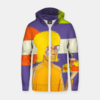 Thumbnail image of Cola & burger Zip up hoodie, Live Heroes