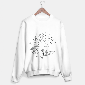 Miniatur Camping Lake and Mountain Sweater regular, Live Heroes