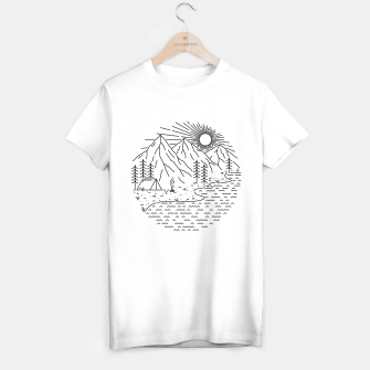 Thumbnail image of Beautiful Place for Camping T-shirt regular, Live Heroes