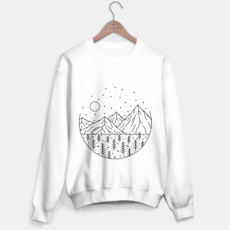 Miniatur Mountain and Tree Sweater regular, Live Heroes