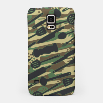 Thumbnail image of Chef Cooking Kitchen Cook Camo WOODLAND Samsung Case, Live Heroes