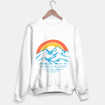 Miniatur Mountain and Rainbow Sweater regular, Live Heroes