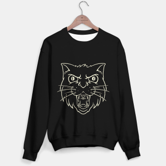 Thumbnail image of Angry Cat Sweater regular, Live Heroes