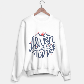 Thumbnail image of Adventure Typo Sweater regular, Live Heroes