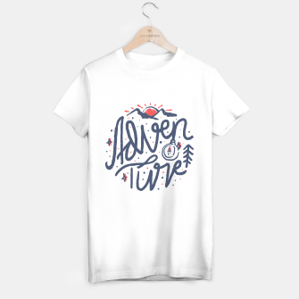 Thumbnail image of Adventure Typo T-shirt regular, Live Heroes