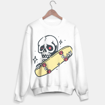 Thumbnail image of Skull Love Skateboard Sweater regular, Live Heroes