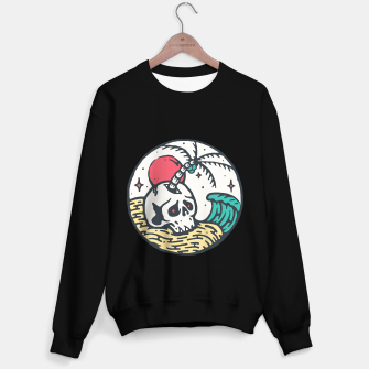 Thumbnail image of Skull and Beach Sweater regular, Live Heroes