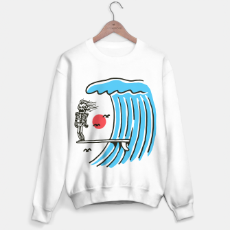 Thumbnail image of Funny Surf Nose Sweater regular, Live Heroes
