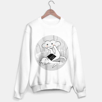 Thumbnail image of The White Cat's reality guide Sweater regular, Live Heroes